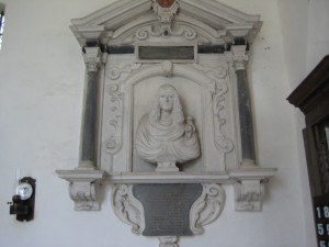 Monnington on Wye - Herefordshire - St. Mary - wall memorial
