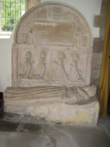 Much Cowarne - Herefordshire - St. Mary the Virgin - effigy