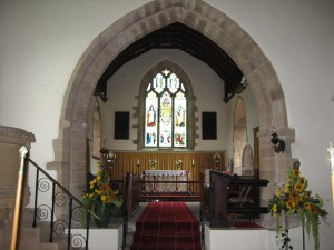 Much Cowarne - Herefordshire - St. Mary the Virgin - interior