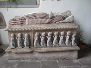 Much Cowarne - Herefordshire - St. Mary the Virgin - tomb