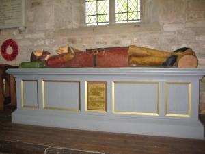much marcle St. Bartholomew effigy