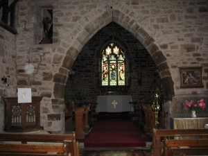 Ocle Pychard - Herefordshire - St. James - interior