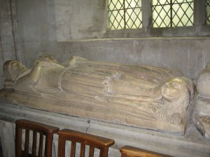 Pembridge - Herefordshire - St. Mary - effigies