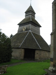 Pembridge - Herefordshire - St. Mary - exterior bell tower