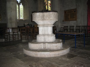 Pembridge - Herefordshire - St. Mary - font
