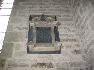 Pembridge - Herefordshire - St. Mary - wall memorial