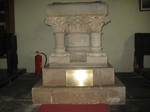 Pencombe with Marston Stannett - Herefordshire - St. John - font