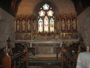 Putley - Herefordshire - Parish Church - interior