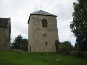 Richards Castle - Herefordshire - St. Bartholomew - exterior - bell tower