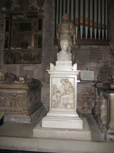 Ross on Wye - Herefordshire - St. Mary - monument