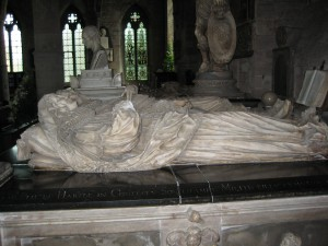 Ross on Wye - Herefordshire - St. Mary - tomb