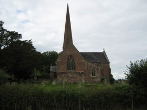 Sellack - Herefordshire - St. Tysilio - exterior