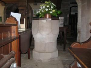 Sellack - Herefordshire - St. Tysilio - font