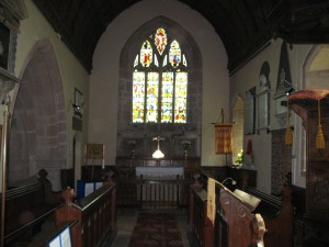 Sellack - Herefordshire - St. Tysilio - interior