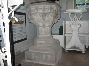 Shobdon - Herefordshire - St. John the Evangelist - victorian font