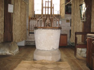 Sollers Hope - Herefordshire - St. Michael - font