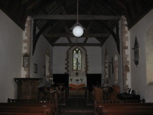 Stanford Bishop - Herefordshire - St. James - interior