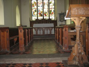 Staunton on Arrow - Herefordshire - St. Peter - interior