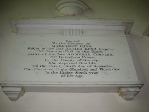 Staunton on Arrow - Herefordshire - St. Peter - memorial plaque 2