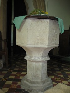 Stoke Prior - Herefordshire - St. Luke - font