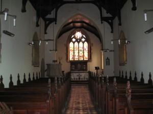 Stoke Prior - Herefordshire - St. Luke - interior