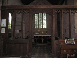Stretford - Herefordshire - St._Cosmas__St._Damian_interior