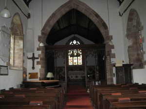 Stretton Grandison - Herefordshore - St. Lawrence - interior