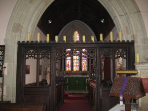 Tedstone Delamere - Herefordshire - St. James - interior