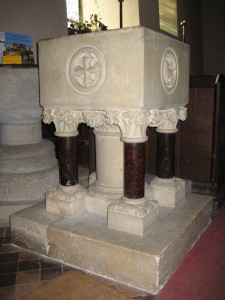Tedstone Delamere - Herefordshire - St. James - new font