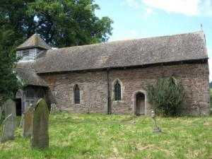 Turnastone - Herefordshire - St Mary Magdalene - exterior