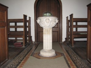 Tyberton - Herefordshire - St. Mary - font