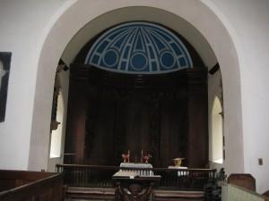 Tyberton - Herefordshire - St. Mary - interior