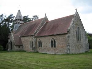 ullingswick - Herefordshire - St. Luke - exterior
