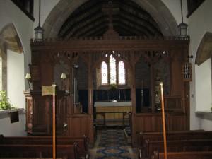ullingswick - Herefordshire - St. Luke - interior