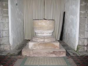 Upper Sapey - Herefordshire - St. Michael - font