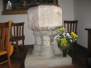 Wellington Heath - Herefordshire - Christ Church - font