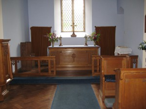 Wellington Heath - Herefordshire - Christ Church - interior