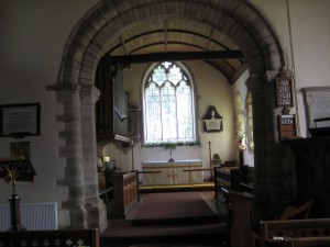 Wellington - Herefordshire - St. Margaret - interior