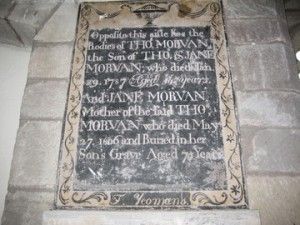 Wellington - Herefordshire - St. Margaret - memorial plaque 10