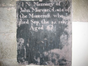Wellington - Herefordshire - St. Margaret - memorial plaque 11