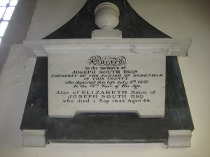 Wellington - Herefordshire - St. Margaret - memorial plaque 6