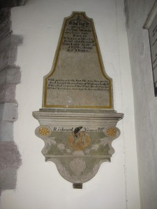 Wellington - Herefordshire - St. Margaret - memorial plaque 7