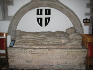 Weobley - Herefordshire - St. Peter & St. Paul - effigies