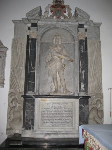 Weobley - Herefordshire - St. Peter & St. Paul - memorial