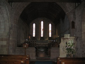 Weston Under Penyard - Herefordshire - St. Lawrence - interior