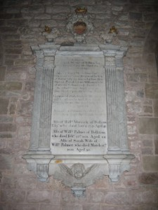 Weston Under Penyard - Herefordshire - St. Lawrence - memorial plaque 2