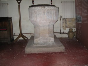 Whitchurch - Herefordshire - St. Dubricius - font