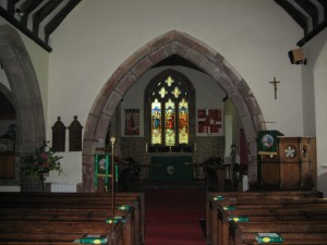 Whitchurch - Herefordshire - St. Dubricius - interior