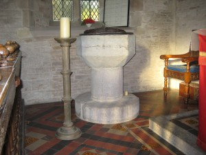 Winforton - Herefordshire - St. Michael & All Angels - font