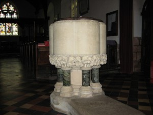 Withington - Herefordshire - St. Peter - font